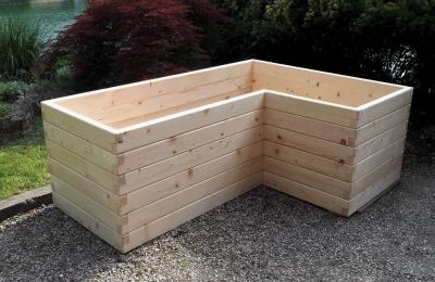 Visoke grede različnih oblik za vaš vrt.