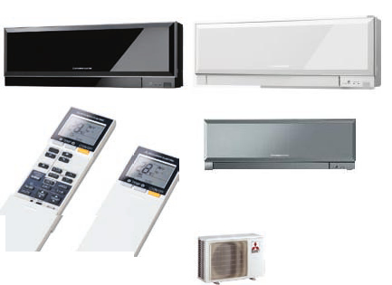 Klimatske naprave za vroče poletne dni ter hladne zime.