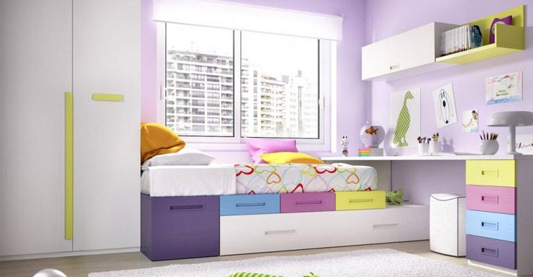 Otroška soba za deklice.