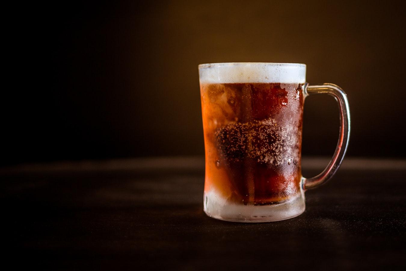 pivski kozarec 1l